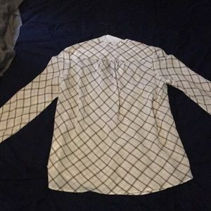 V neck dress shirt